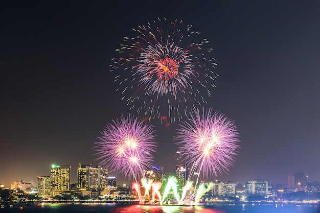 Pattaya international fireworks