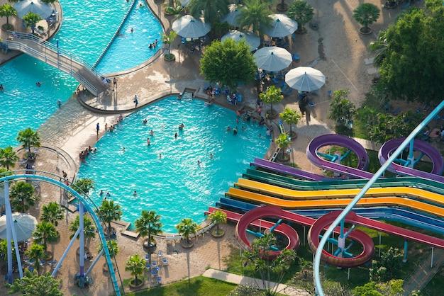 Pattaya park belangrijke toeristische attracties van de stad