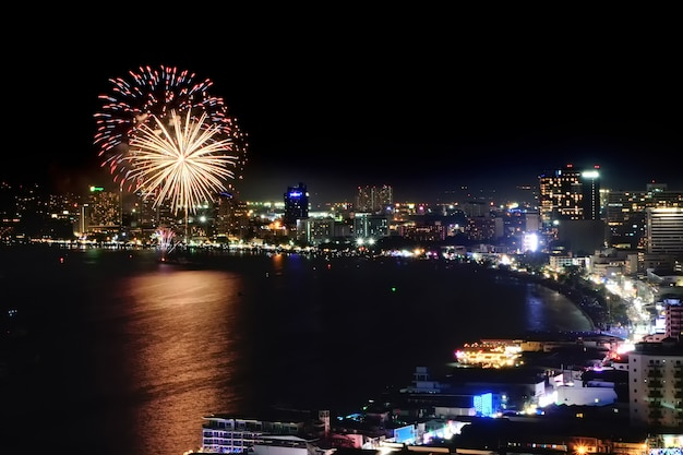 Pattaya vuurwerk