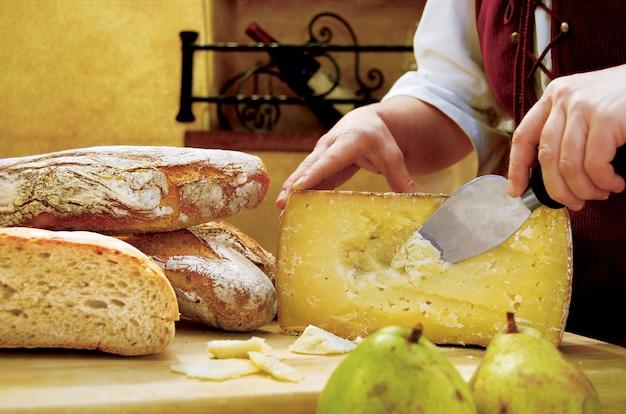 Pecorino-kaas uit sardinië