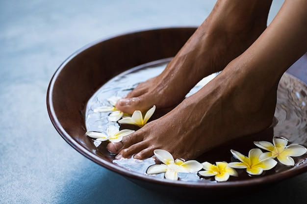 Pedicure in luxe spa