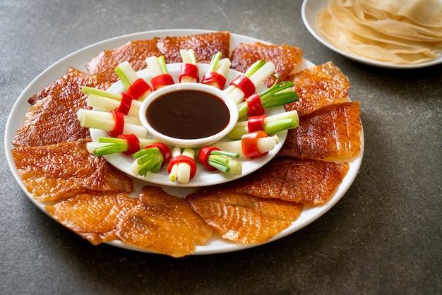 Peking eend. chinese eetstijl