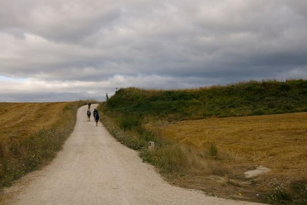Pelgrims; weg van st. james
