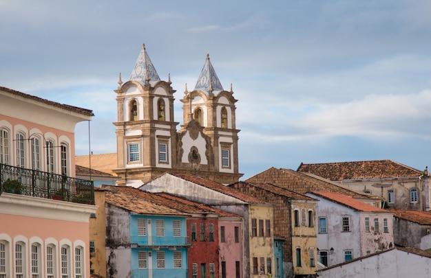 Pelourinho historisch centrum van salvador bahia brazilië.