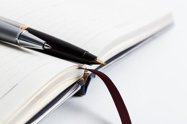 Pen en notitieboekje