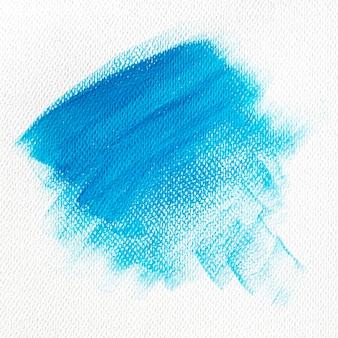 Penseelstreekeffect op canvas