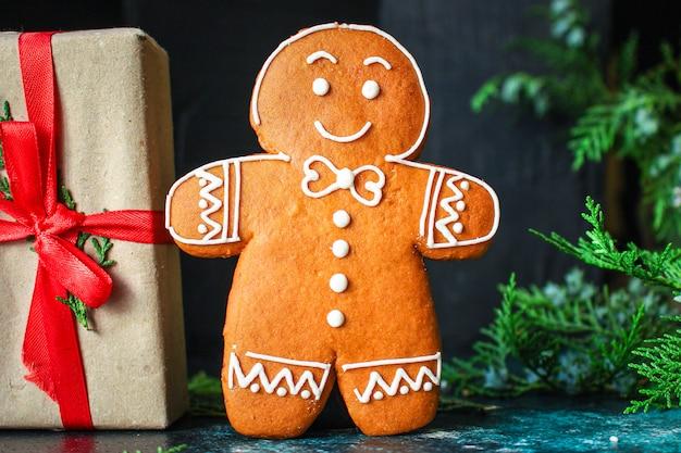 Peperkoekgeschenken en zoete kerstkoekjes