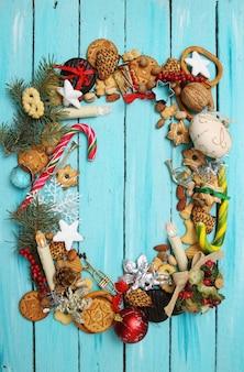 Peperkoekkoekjes en ornamenten