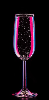 Perfect glas bij de champagne