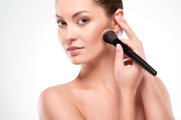 Perfecte make-up voor de dag