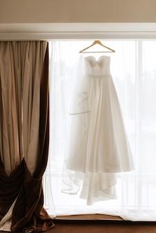 Perfecte trouwjurk op de trouwdag