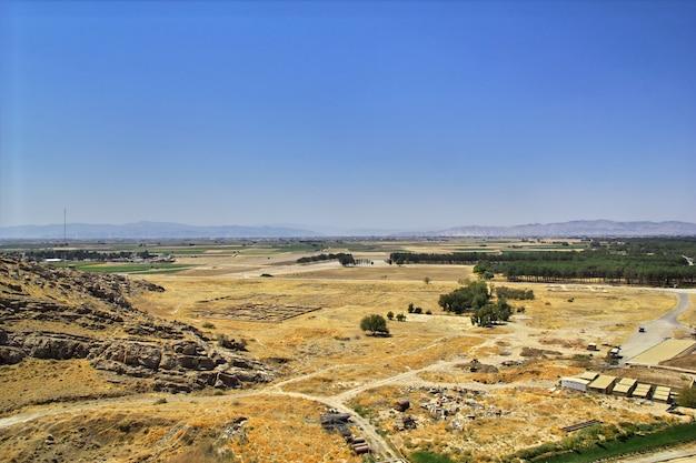 Persepolis is de hoofdstad van het oude rijk in iran