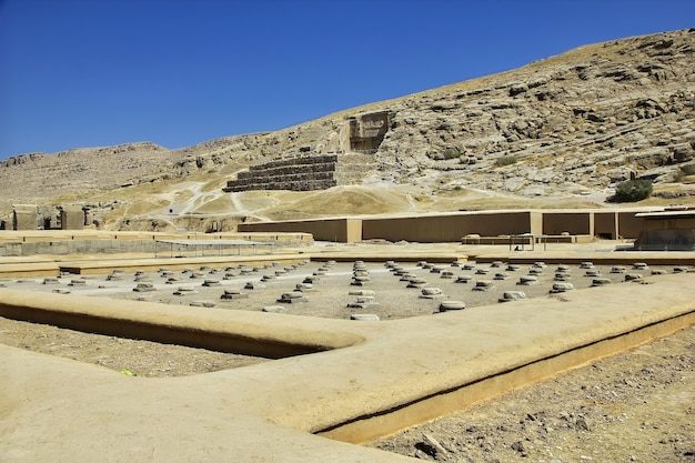 Persepolis-ruïnes van het oude rijk in iran