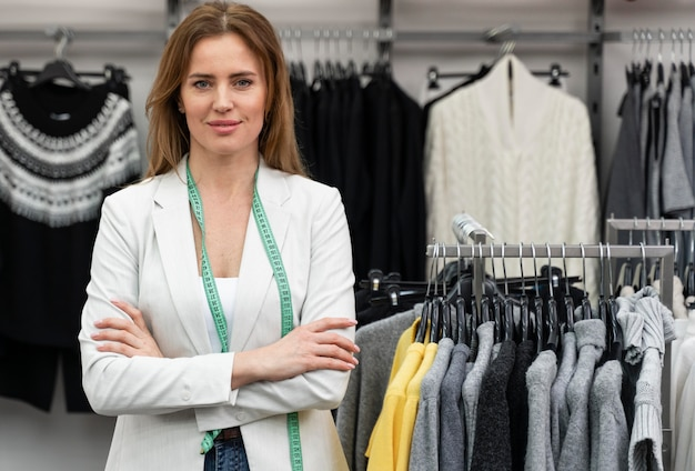 Personal shopper in winkel werken