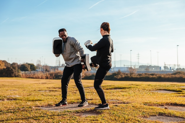 Personal trainer boksen
