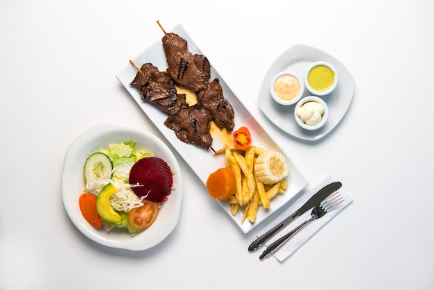 Peruaanse gerechten: