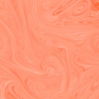 Perzik acryl kleur twist textuur achtergrond