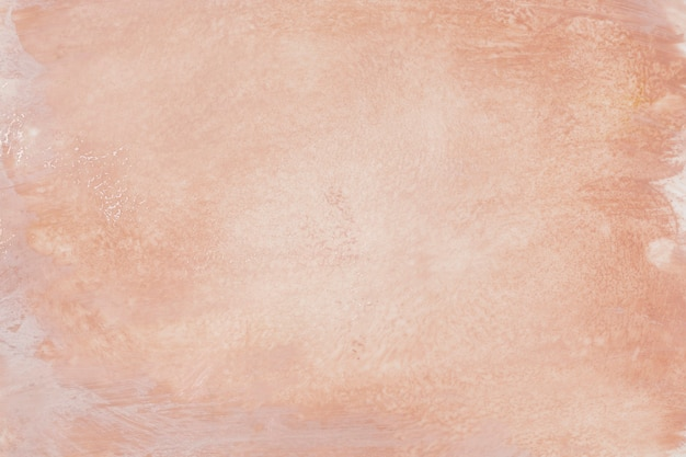 Perzik acryl schilderij achtergrond vector
