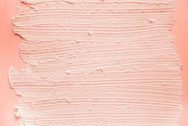 Perzik penseelstreek textuur behang