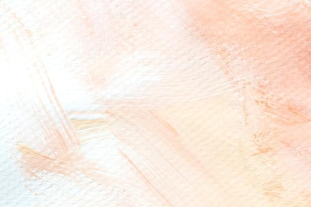 Perzik penseelstreek van acryl