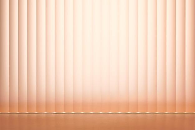 Perzik productachtergrond met patroonglas