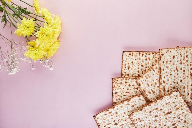 Pesah viering concept - joodse pascha vakantie achtergrond