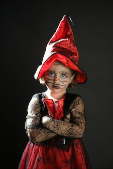 Peutermeisje, halloween-kostuum