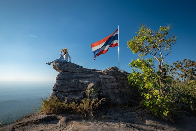 Pha chu thong attracties in phu hin rong kla national park