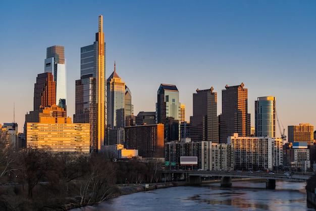 Philadelphia skylines-gebouw