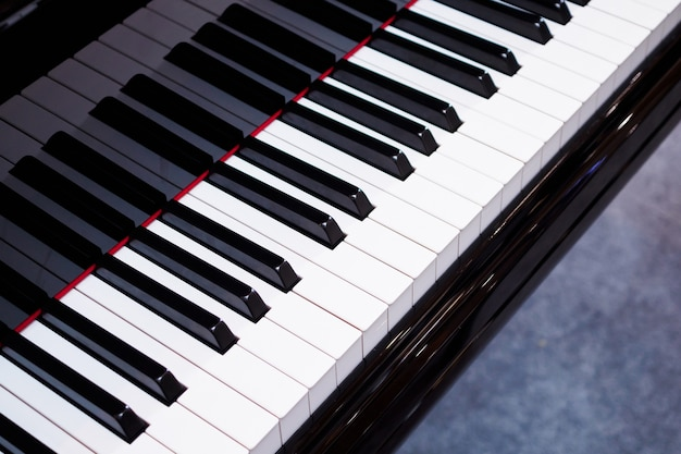 Piano klavier close-up