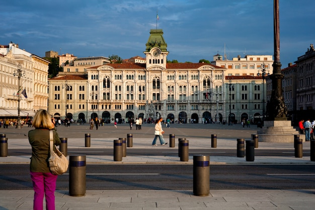 Piazza unità d'italia, triëst