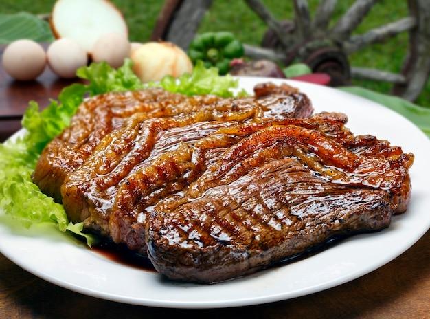 Picanha, traditionele braziliaanse barbecue.