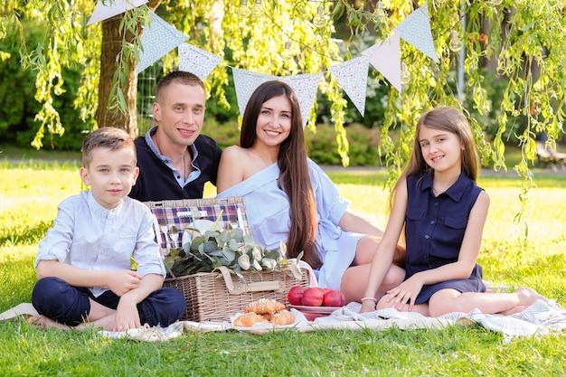Picknick met het gezin