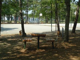 Picknicktafel park