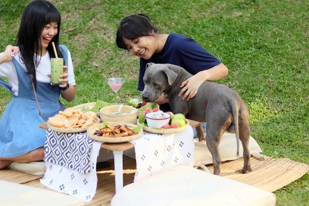 Picknicktijd.