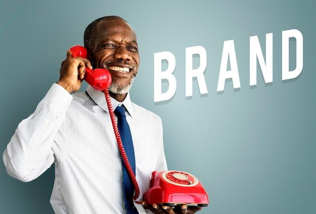 Pictogram voor merkadvertenties voor bedrijfsstrategie