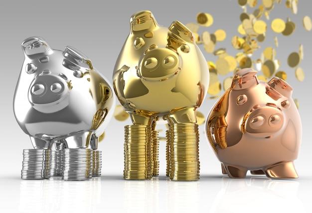 Piggy bank-groep