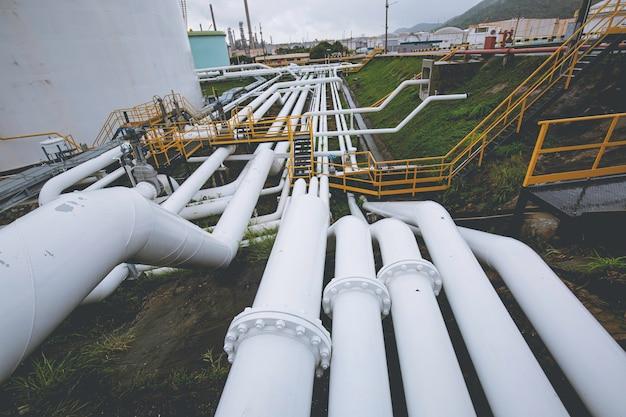 Pijpleiding olie- en gaskleppen bij tankoliedruk veiligheidsklep selectief