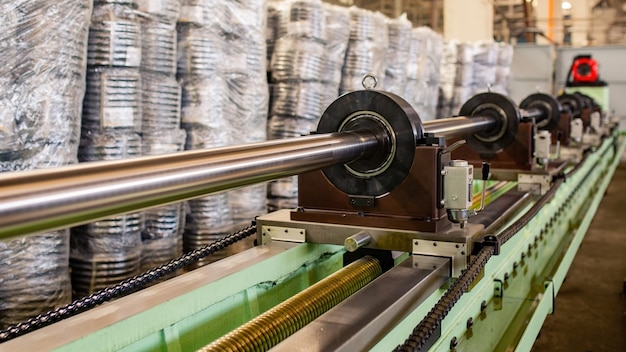Pijpmachine maken. apparatuur pijp rollende fabriek.