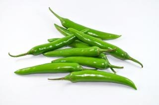 Pikante groene pepers