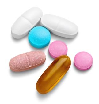 Pillen, capsules en tabletten