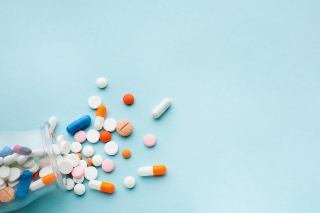 Pillen liepen voor in een potkopie