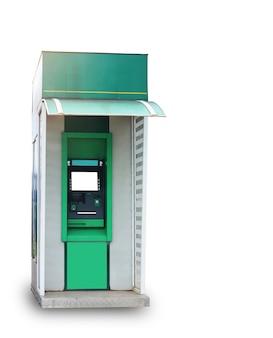 Pinautomaat op witte achtergrond