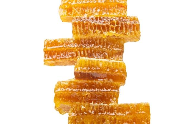 Piramide van washoning. vitamine voeding en bijenproduct.