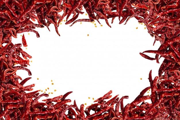 Pittige chili pepers vlokken