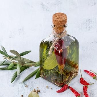 Pittige olijfolie