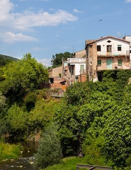 Pittoreske huizen in sant joan les fonts