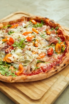 Pizza eten eten