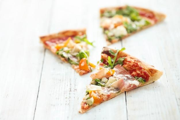 Pizza eten