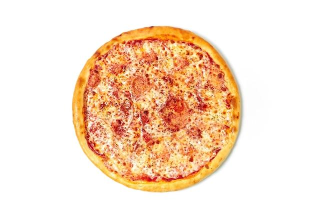 Pizza op geïsoleerd